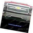 グリル For 2014-2015 Chevy Silverado 1500 Stainless Steel...