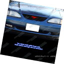 グリル Fits 1994-1998 Ford Mustang Black Billet Grille In...