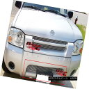 グリル Fits 2001-2004 Nissan Frontier Bumper Billet Grill...
