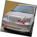 グリル Fits 08-10 Honda Odyssey Stainless Mesh Grille Ins...