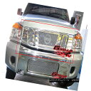 グリル Fits 2008-2015 Nissan Titan Stainless Steel Mesh G...