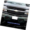 グリル Fits 03-06 Chevy Silverado 1500/2500 Black Main Up...