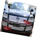 グリル Fits 2003-2007 VW Volkswagen Touareg Bumper Stainl...