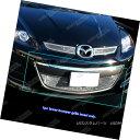 グリル 2010-2012 Mazda CX7 i/CX-7 s Bumper Stainless Stee...