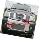 グリル Fits 04-07 Nissan Titan/Armada Vertical Main Upper...