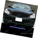 グリル Fits 2007-2008 Infiniti G35 Sedan Black Billet Gri...