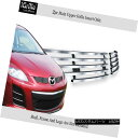 グリル For 2010-2012 Mazda CX-7 CX7 Stainless Steel Bille...