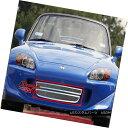 グリル Fits 04-09 Honda S2000 Lower Bumper Stainless Mesh...