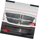 グリル Fits 07-10 Dodge Sprinter Main Upper Billet Grille...
