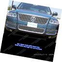 グリル Fits 2003-2007 VW Volkswagen Touareg Main Upper Bi...