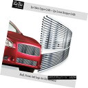 グリル 304 Stainless Steel Billet Grille Combo Fits 2009-...