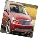 グリル Fits 2005-2007 Infiniti M35 Sedan Billet Grille Gr...