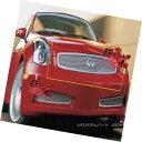 グリル Fits 03-07 Infiniti G35 Coupe Only Stainless Steel...