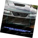 グリル Fit 99-04 Ford Mustang V6 GT V8 Logo Show Black Bi...