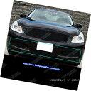 グリル Fits 07-08 Infiniti G35 Sedan Black Main Upper Bil...