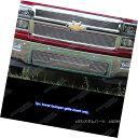グリル Fits 2014-2015 Chevy Silverado 1500 Lower Bumper B...