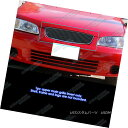 グリル Fits 2000-2003 Nissan Sentra Black Main Upper Bill...