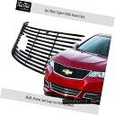 グリル Fits 2014-2016 Chevy Impala Logo Show Stainless St...