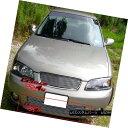 グリル Fits 2000-2003 Nissan Sentra Lower Bumper Billet G...