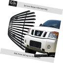 グリル Fits 2004-2015 Nissan Titan/04-07 Armada Bumper Bl...