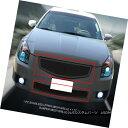 グリル Fits 2007-2008 Nissan Maxima Black Stainless Steel...