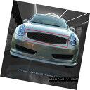 グリル Fedar Fits 03-07 Infiniti G35 Coupe Black Mesh Gri...