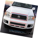 グリル Fedar Fits 2000-2001 Nissan Pathfinder Black Bille...