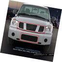 グリル Fedar Fits 2004-2007 Nissan Titan/Armada Black Bil...