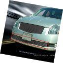 グリル Fits 04 05 06 Nissan Maxima Billet Grille Combo In...