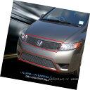 グリル 06-07 Honda Accord Coupe Billet Grille Grill Combo...