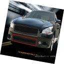 グリル Fedar Fits 09-14 Nissan Maxima Full Black Bottom F...