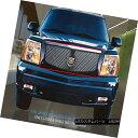 グリル Fits 02-06 Cadillac Escalade BlackStainless Dual M...