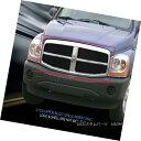 グリル For 2004-2006 Dodge Durango Black Billet Grille Up...