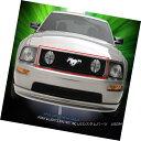 グリル Fits 2005-2009 Ford Mustang GT V8 With Logo Show W...