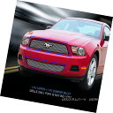 グリル For 10-12 Ford Mustang V6 Billet Grille Grill Comb...