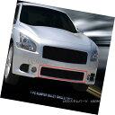 グリル Fits 2009-2014 Nissan Maxima Black Bumper Billet G...