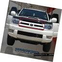 グリル For 03-05 Toyota 4Runner Black Bolt-On Billet Gril...