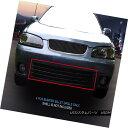 グリル Fedar Fits 2000-2003 Nissan Sentra Black Billet Gr...
