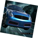グリル Fits 03-07 Infiniti G35 2 Door Coupe Black Billet ...