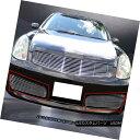 グリル Fits 03-04 Infiniti G35 Sedan Billet Grille Grill ...