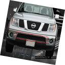 グリル Fits 05-15 Nissan Pathfinder Frontier Black Billet...