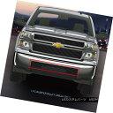 グリル Fits 2014-2015 Chevy Silverado 1500 Black Billet G...