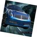 グリル Fits 03-07 Infiniti G35 2 Door Coupe Billet Grille...