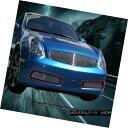 グリル Fits 2003-2007 Infiniti G35 2 Door Coupe Billet Gr...