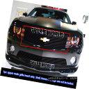 グリル For 2010-2012 Chevy Camaro Short Logo Show Black B...