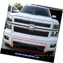 グリル Fits 2014-2015 Chevy Silverado 1500 Stainless Stee...