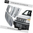 グリル Fits 08-15 2015 Nissan Titan 304 Stainless Steel B...