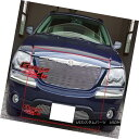 グリル For 04-06 Chrysler Pacifica Billet Grille Combo 04...