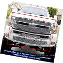 グリル For 2007-2012 Chevy Silverado 1500 Billet Grille G...