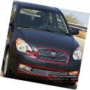 グリル 09-11 2011 Fit Hyundai Accent 3DR Billet Grille Co...